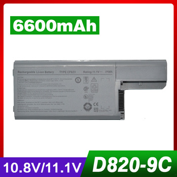 Dell için 6600 mAh laptop batarya 310-9122 310-9123 312-0393 312-0394 312-0401 312-0402 312-0537 312-0538