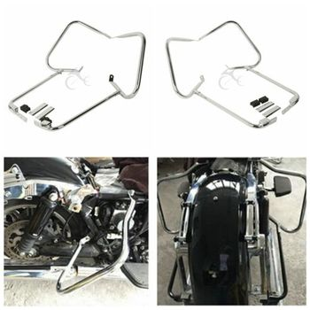 Heybe Dirsek Guard W/Destek Bar Harley Touring CVO Ultra Classic Electra Glide Road King FLHR FLHT 97-08